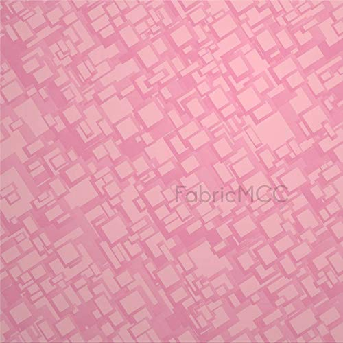 daoyiqi Juego de pegatinas decorativas para azulejos, diseño moderno de color rosa, 10,4 x 10,4 cm, vinilo impermeable para decoración del hogar