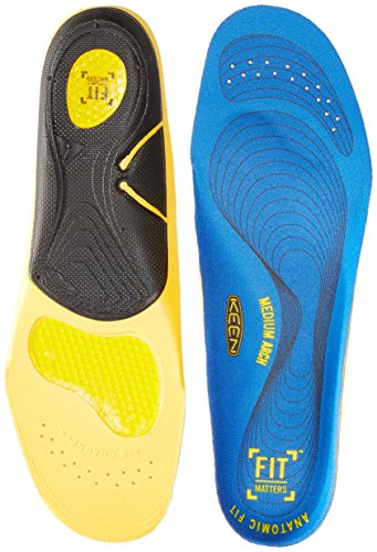 KEEN Utility Men's K-30 Gel Insole for Neutral Arches Accessories, Blue, L