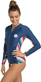 Rip Curl Hanna Long Sleeve Zip UP Rash Guard