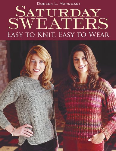 Saturday Sweaters: Easy to Knit, Easy to Wear (English Edition)