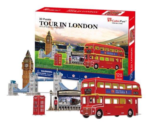 3D three-dimensional puzzle London tour (japan import)