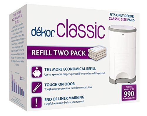 Top diaper dekor refills classic for 2020