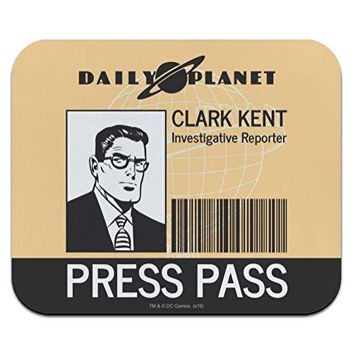 Superman Clark Kent Press Pass Low Profile Thin Mouse Pad Mousepad