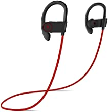 MYXMY Bluetooth Headphones,Wireless Stereo Magnetic in-Ear Earbuds, Secure Fit for Sports, Gym, Travelling (Color : A)