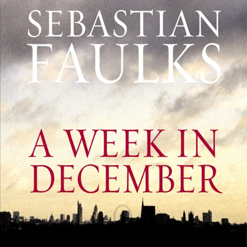 A Week in December audiobook cover art