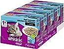 Whiskas 1 + Katzenfutter , Fisch-Auswahl in Sauce, 48 x 100g