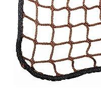 安全ネット 多目的な用途のセーフティネットネット ゴルフネットベランダ 防鳥網 園芸用ネット 階段保護ネット環境安全ネット家庭用バルコニー子供幼稚園遊び場転倒防止ネットネット幅0.8m /長さ1mから10m 怪我防止 危険防止 簡単設置 防獣ネット 動物ガードネット アニマルネット (Size : 0.8m wide*10m long)