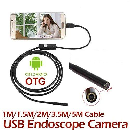 TOPmountain 1M 7Mm Android-Handy-Endoskop-Android-Endoskop-Kamera-Inspektionskamera