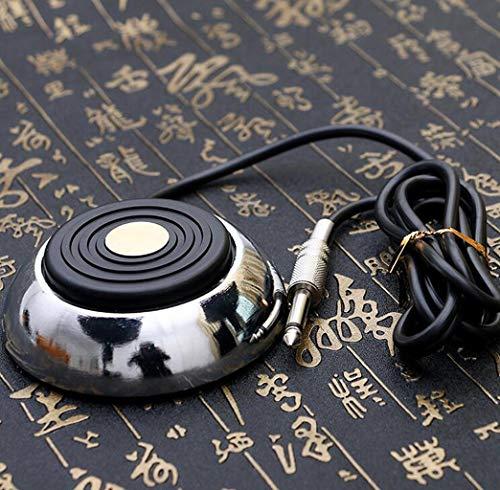 Tattoo voet schakelaar, tattoo apparatuur schoonheid gereedschappen, microfoon hoofd dikke koperdraad roestvrij staal pedaal