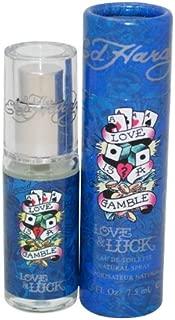 Christian Audigier Ed Hardy Love and Luck Eau de Toilette Spray for Men, 0.25 Ounce