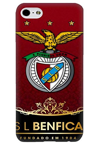 Schutzhülle iPhone 6 6s Hülle Football Club Benfica, Apple iPhone 6 Fußball Real Anthrazit Case Cover