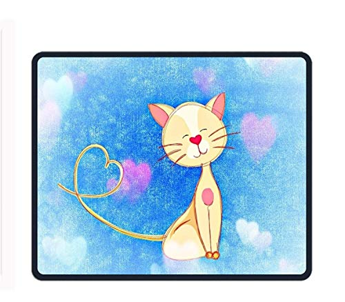 N / A Cartoon Cat Mouse Pad Gioco Office Mouse Pad più Spesso Decorato Mouse Pad
