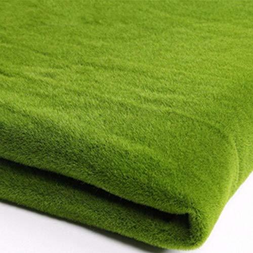 1m x 1m Artificielle Herbe Tapis Plastique Pelouse Grass Moquette d'extérieur ou d'intérieur Vert Synthétique Gazon Décoration pour Jardin Terrasse Balcon