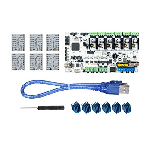 Homyl Rumba+ MotherBoard Upgrade Rumba Control Board& 6Pcs TMC2130 for 3D Printer