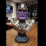 YQYW Avengers 3 Tyrants Statue Modell Held Büste Ornamente Desktop Anime Dekorationen 36cm -