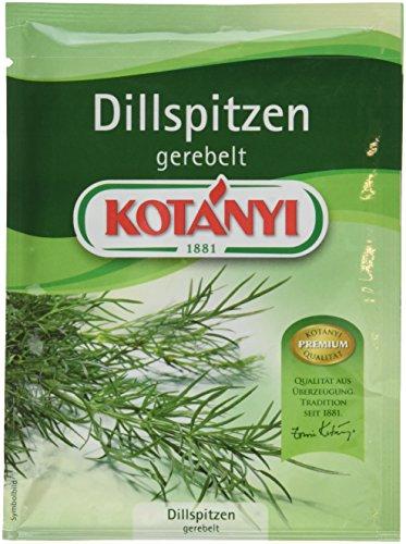 Kotanyi Dillspitzen gerebelt, 5er Pack (5 x 12 g)