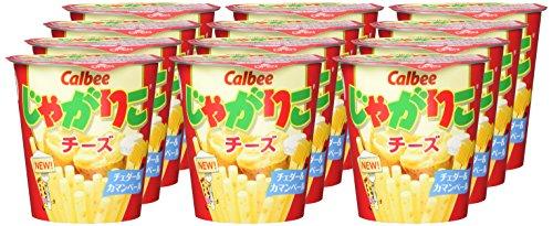 カルビーじゃがりこチーズ58g×12個