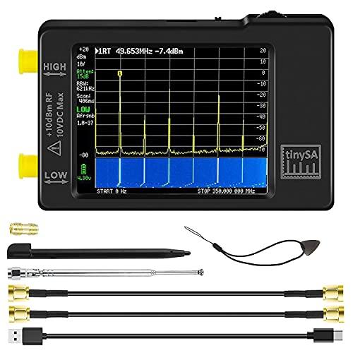 Portable tinySA Spectrum Analyzer - AURSINC Hand Held Frequency Analyzer 2021 Upgraded V0.3.1 |...