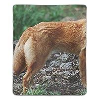 マウスパッド 犬 滑り止め マウス用パット ゲーミング 耐久性 約(18cm X 22cm) マウス パッド