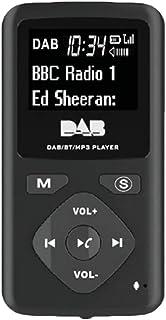 Iycorish DAB/DAB Digital Radio 4.0 Personal Pocket FM Portable Radio Earphone MP3 Micro-USB for Home