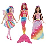 Barbie Dreamtopia Rainbow Cove cuento de hadas 3 muñecas Set de regalo
