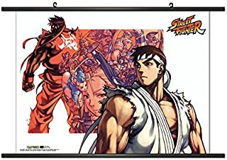 CWS-Media Group Officially Licensed Street Fighter Alpha 3 Wall Scroll Poster 32 x 21 Inches