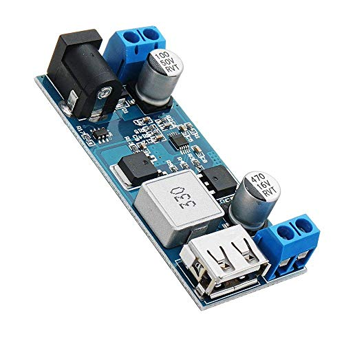 BXU-BG Paso módulo de Abajo del módulo de alimentación de energía del convertidor del convertidor 10pcs 12V / 24V a 5V 5A DC-DC Buck módulo de alimentación