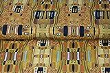 Stenzo – Jersey Stoff für Kinder mit Gustav Klimt Muster