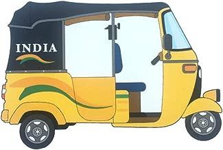 Chris Cross India Auto Rickshaw Fridge Magnet