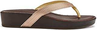 Ola - Women's Wedge Leather Sandal