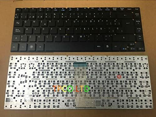 New Spanish Laptop keyboard without for ES1-51 Aspire Max unisex 53% OFF Acer frame