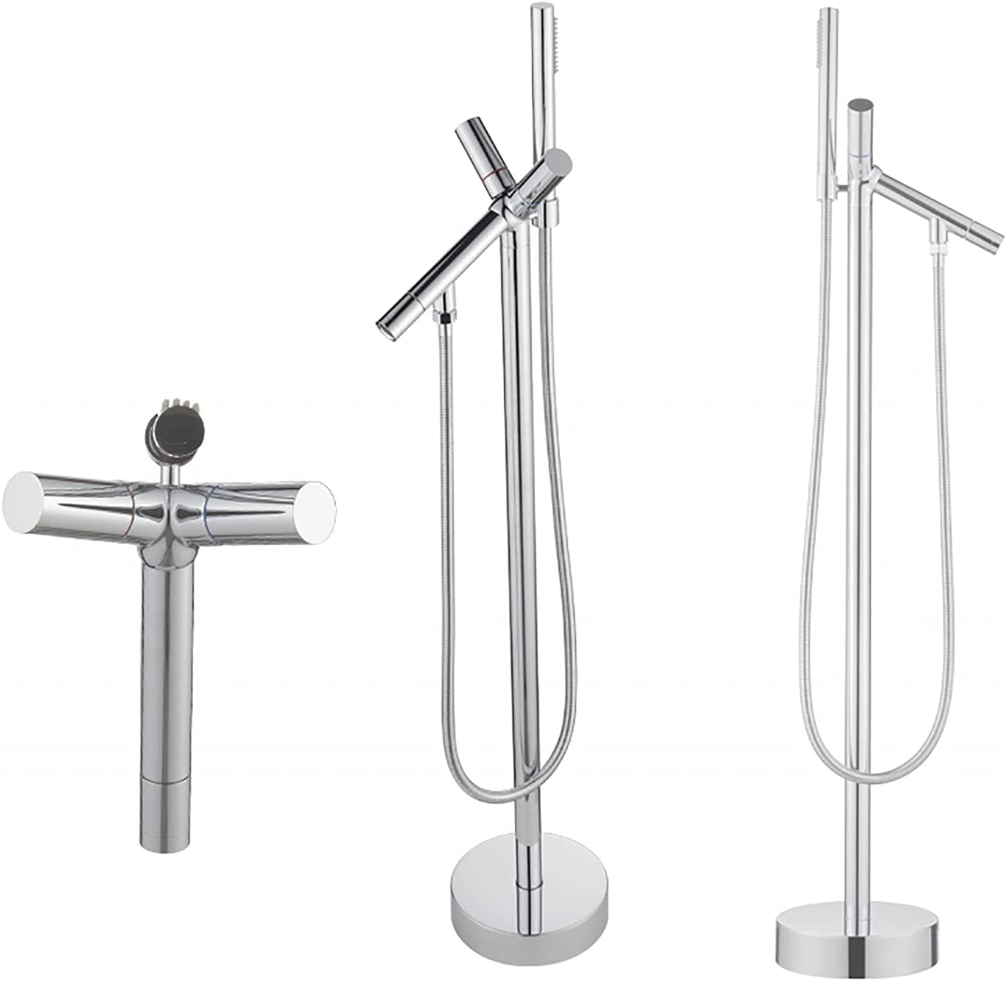 ZGZFEIYU Thermostatic Shower Faucet Show Tub Very Fort Worth Mall popular Floor-Standing Side