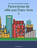 Livre de coloriage pour enfants Panoramas de ville aux États-Unis 2