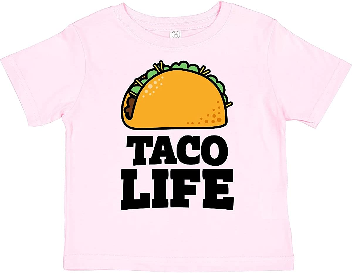 inktastic Taco Life T-Shirt Popular brand Limited time sale Toddler