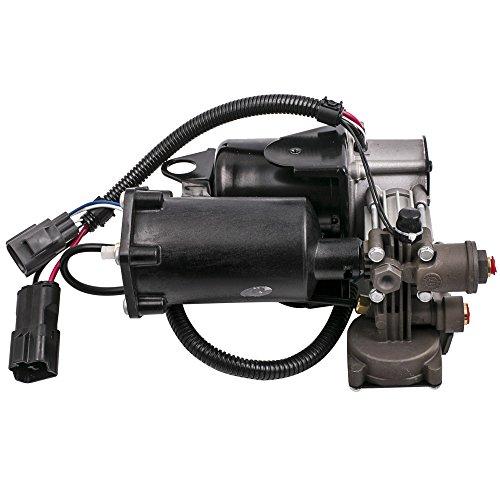 maXpeedingrods Air Suspension Compressor for Range Rover Sport (06-14) for Land Rover LR3 (05-09) LR4 (10-14) for Hitachi Air Pump LR023964