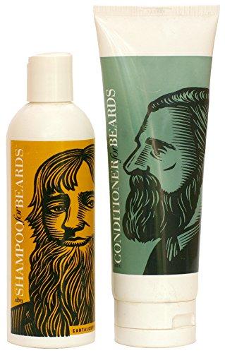 Beardsley amp Company Beard Care Products Shampoo Wash and Ultra Conditioner and Softener Value Set Cantaloupe