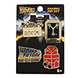 Funko Loungefly: Back to The Future - 4 Pack Enamel Pin Set, Amazon Exclusive