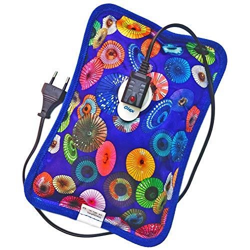 Vessel Crew Heating Pad, Heat Water Bottle, Hot water bag, Electric Hot Water Bottle with gel for Pain relief (Multicolor)