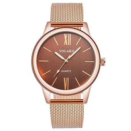 Belt Watch_2019 New Trend Ladies Belt Watch Student Table shopee Relojes Calientes Oro Rosa