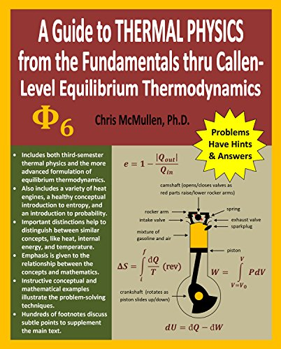 A Guide to Thermal Physics: from the Fundamentals thru Callen-Level Equilibrium Thermodynamics (English Edition)