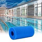 KKSONICE Filtro de espuma para piscina, esponja de filtro tipo S1, reutilizable y eficaz, para tipo S1, filtro de espuma para piscina, acuario, spa