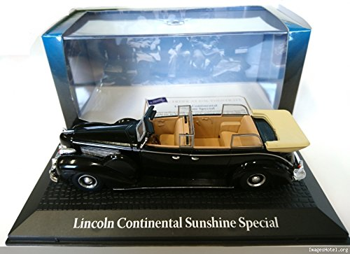 Générique Voiture PRESIDENTIELLE Ford Lincoln Continental Sunshine Special - Yalta 1945 Roosevelt Churchill STALINE - NOREV 1/43