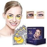Produit de soin quotidien de la zone des yeux, coussinets de gel de traitement des yeux pour hydrater et hydrater, paquet de 15 paires