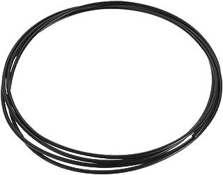 0.19 ID x 5mm 3mm 0.11 OD 1m PA6 Nylon Tube Pneumatic Air Brake Tubing for Fluid Transfer Black uxcell Nylon Line Hose Tube