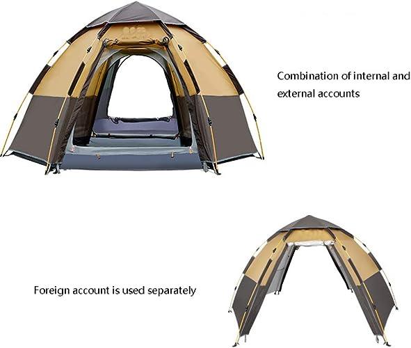 YFTM-CT Tente De Camping Tente Extérieure à La Pluie, Tente 5-8 Personnes, Camping, Loisirs en Famille Sauvage
