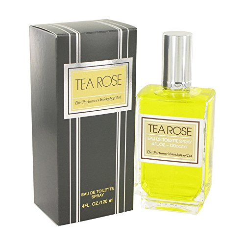 FragranceX Perfumers Workshop Tea Rose 4 oz Eau De Toilette Spray For Women