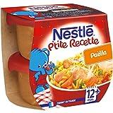 Nestlé Bébé P'Tite Recette Paëlla Plat Complet Dès 12 Mois 2 x 200 g