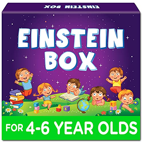 Einstein Box for 4, 5 and 6 Year Old Kids for Baby Boys and Girls, Learning and Educational Gift Pack of Toys, Games and Books (Multicolor)
