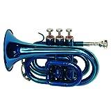 Dimavery 26503680 TP-300 B-Pocket - Trompeta, color azul