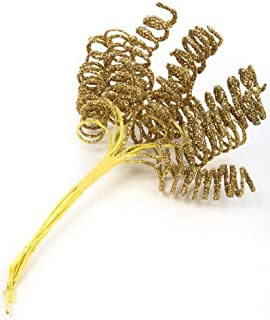 Package of 12 Bunches of Gold Glitter Sparkly Ting Ting